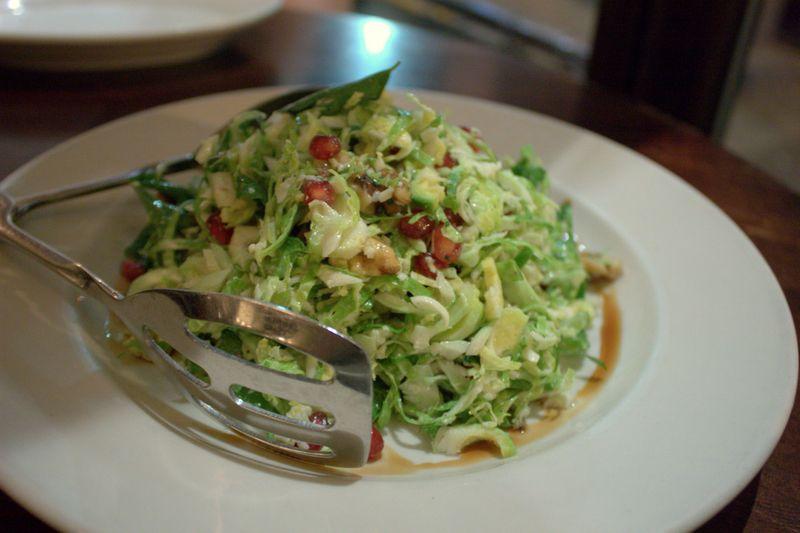 La Grande Orange Cafe Brussel Sprout Salad