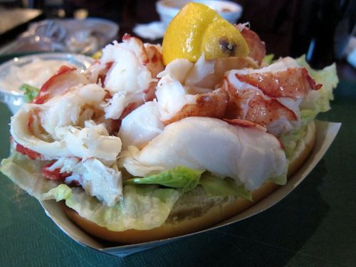 Jordan's lobster roll