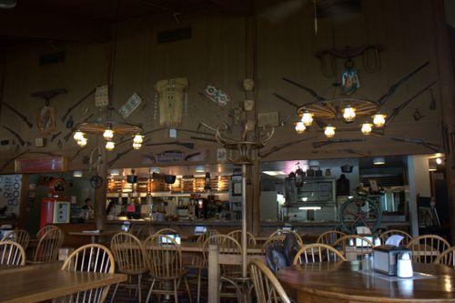 Char burger dining room