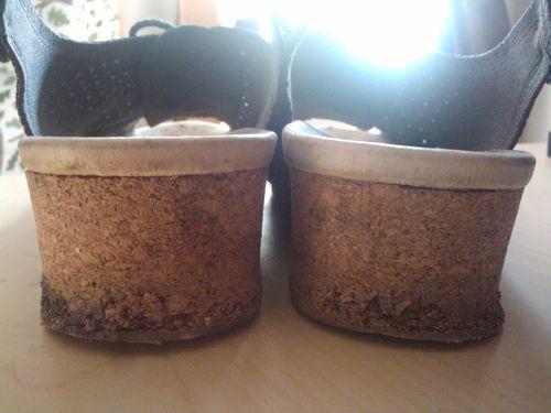 Mangled shoes