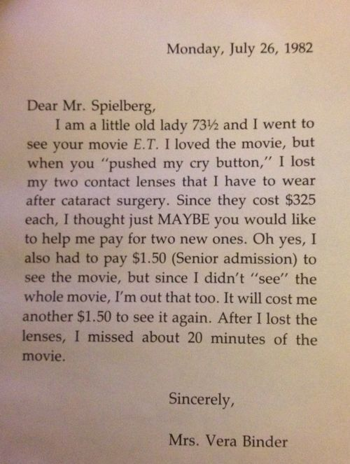 Et letter