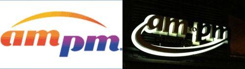 Am pm logos