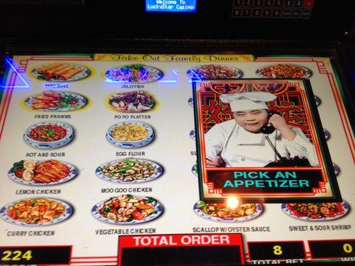 Chinese take-out slot machine