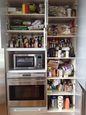 Open pantry
