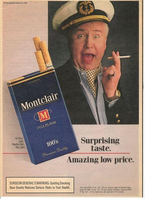 Montclair cigarettes